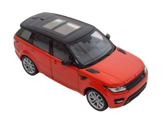 Range Rover Sport - Chilli Red 1:24 Scale Model