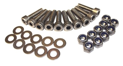 Rear Cross Member to Body Stainless Steel Bolt Kit - DA1136