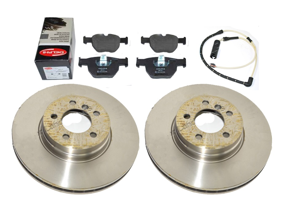 Rear Disc & Pad Kit - Range Rover L322 (up to 2006)