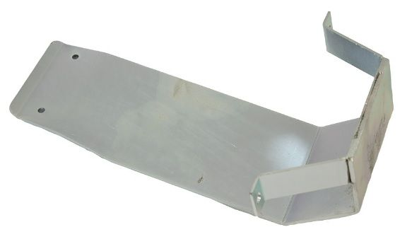 Rear - Salisbury Diff Guard (110 Rear) -  Zinc Plated - Tough 5mm