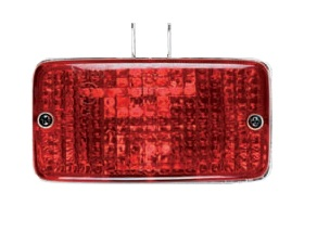 Rectangular Rear Safety Lamp