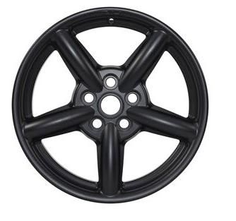 Satin Black ZU Alloy Wheel - 8 x 16