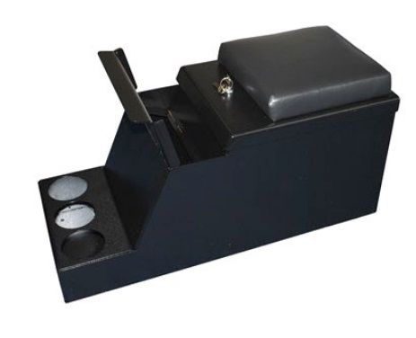 Security box with 2 keys & 3 removable cup holders