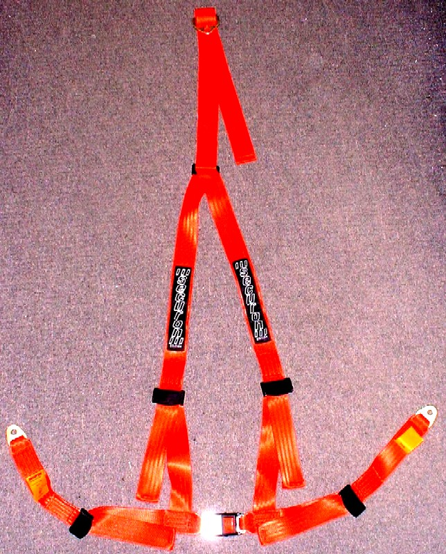 Securon 3 Point Harness - RED