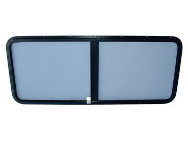 Series 3 & Defender Standard Sliding Window Kit Grey Tinted - PAIR