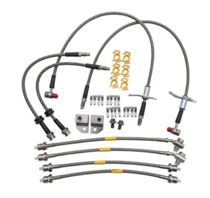 Stainless Steel Brake Hose Kit - DA7561