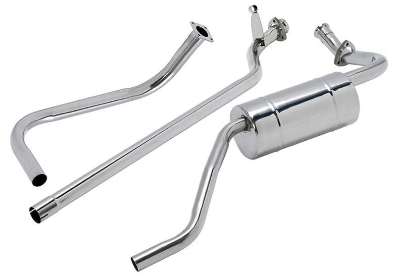 "Stainless Steel Exhaust System - Series 1 80"" 2.0 Petrol"