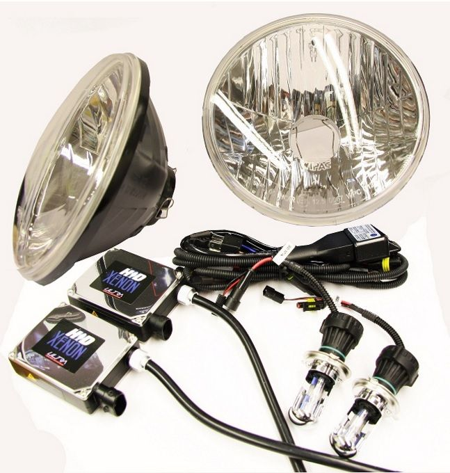 Super Bright Crystal Clear H4 HID Xenon Kit