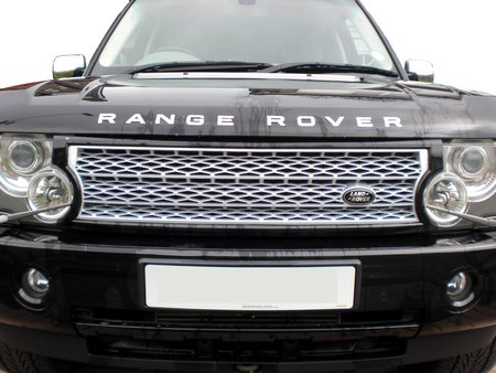 Supercharged Grille Conversion Kit - SILVER & JAVA BLACK - Range Rover L322