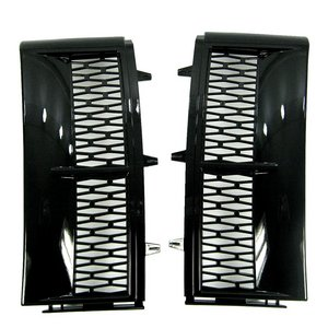 Supercharged Side Vents 'Java' BLACK PAIR ( Non Genuine ) Range Rover L322
