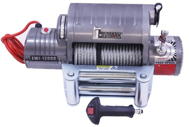 T MAX 12000 lbs Electric Winch - RADIO CONTROLLED