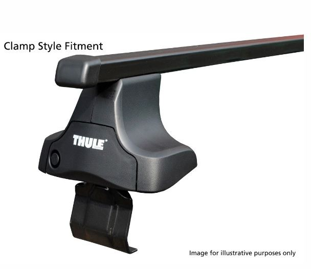 THULE CLAMP STYLE ROOF BARS