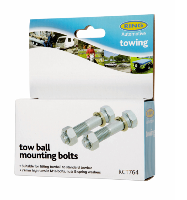 Tow Ball Bolts M16 x 77mm