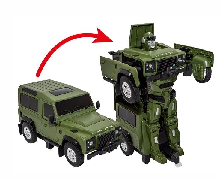 Transformable Defender 1:14 Remote Control Scale Model