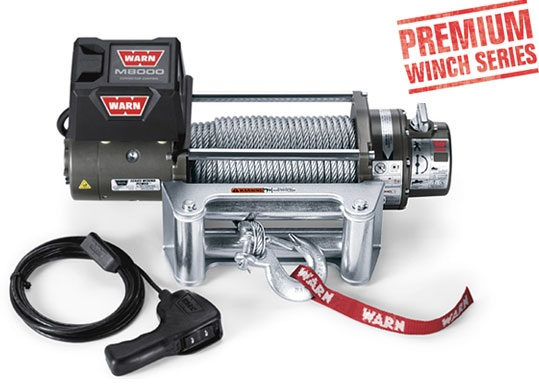 WARN M8000 Winch 12V CE - 88502