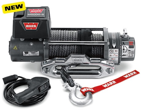 WARN M8000 Winch With Synthetic Rope - 88552