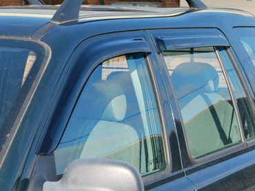 Wind deflector kit - Freelander 1 - 5 Door - Front & Rear Set - DA6077