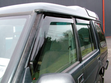 Wind deflector kit - Front & rear 4 piece kit - Range Rover Classic
