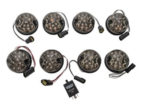 Wipac Smoked LED Light Kit - DA1190